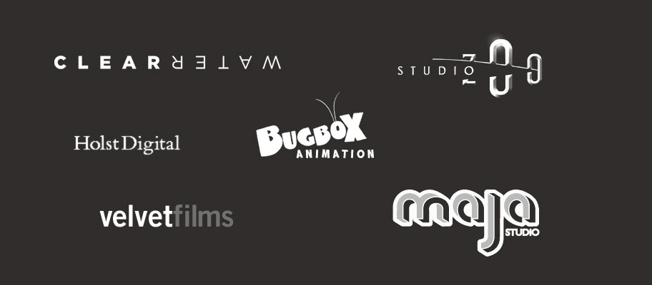 Studios I have worked with